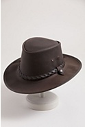 Traveler Crushable Leather Hat