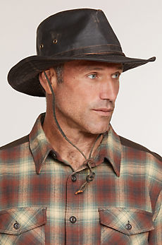Outback Shapeable Weathered Cotton Safari Hat