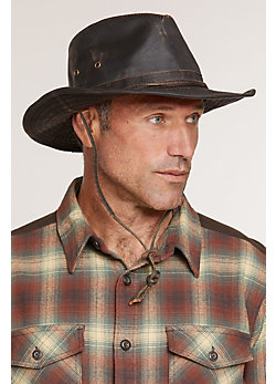 Shapeable Weathered Cotton Outback Hat