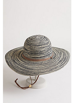 Women's Wide-Brim Toyo Straw Hat