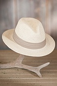 Palm Fiber Straw Safari Hat