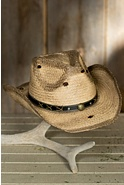Gunsmoke Organic Raffia Hat
