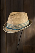 Children's Play Time Organic Straw Fedora Hat