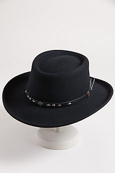 Quincy Crushable Wool Gambler Hat