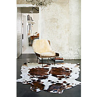 Tri-Color Exotic Cowhide Rug Western & Country