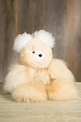 Large Alpaca Wool Teddy Bear