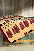 Wheat Denali Bear Throw