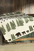 Pearl Denali Bear Throw