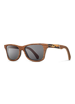 Shwood Originals Canby Walnut Sunglasses with Inlay