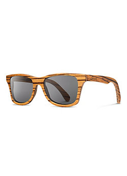 Shwood Originals Canby Zebrawood Sunglasses