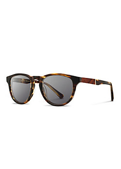 Shwood Fifty-Fifty Francis Sunglasses with Mahogany Inlay