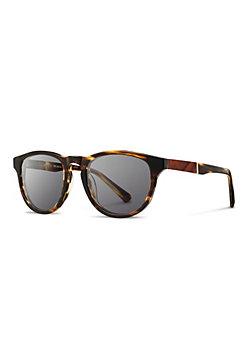 Shwood Fifty-Fifty Francis Sunglasses with Mahogany Inlay