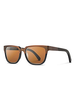 Shwood Prescott Titanium Sunglasses with Dark Walnut Inlay