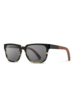 Shwood Prescott Titanium Sunglasses with Walnut
