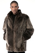 Men's Bradford Longhaired Beaver Fur Jacket