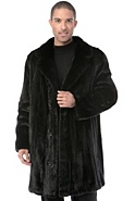 Men's Winston Long-Haired Danish Mink Fur Coat