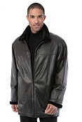 Men's Kenneth Reversible Sheared Danish Mink Fur Jacket