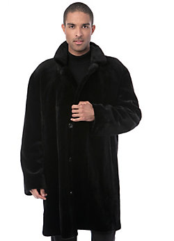 Men's Claude Sheared Danish Mink Fur Coat