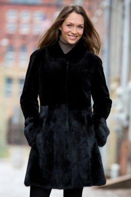 Nell Danish Mink Fur Coat