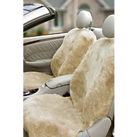 Custom-Fit Sheepskin Car Seat Cover, Gobi Tan Western & Country