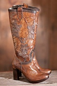 Women's Leather Boots & Shoes
