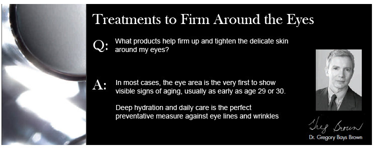 Treatments to Firm Around the Eyes