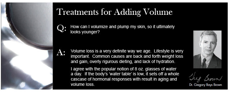 Treatments for Adding Volume