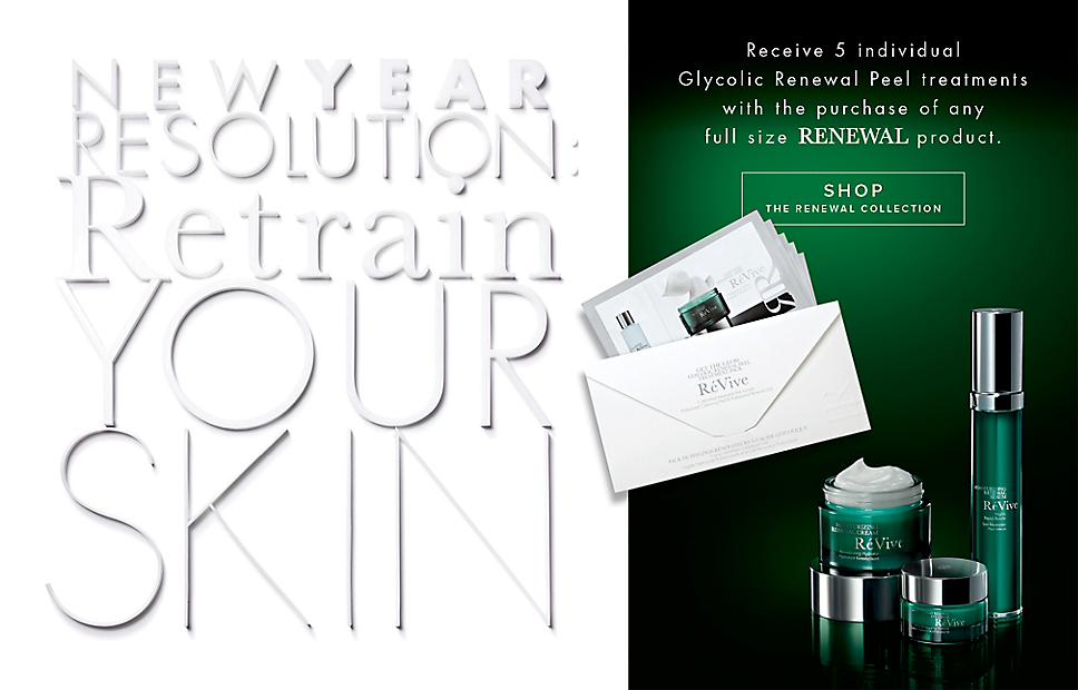 Receive a free 5-piece bonus gift with your full size RENEWAL product purchase
