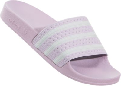 Size 4-6 SANDALS WOMEN SLIDES CQ2897 PINK//WHITE ADIDAS ADILETTE NEW in BOX!