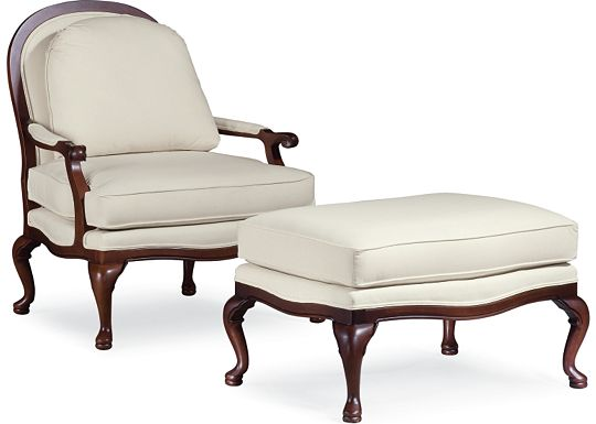 Ponce de Leon Chair and Ottoman (1010-02)