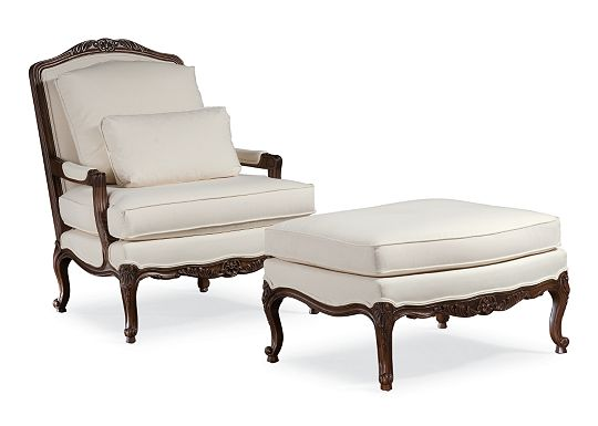 Patriarch Chair and Ottoman (1010-02)