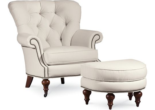 Vienna Chair and Ottoman (1010-02)