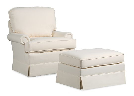 Atlantis Chair and Ottoman (1010-02)