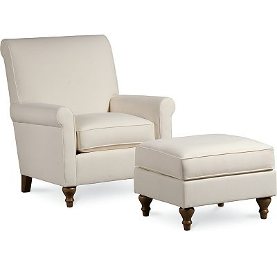 Solitaire Chair and Ottoman (1010-02)