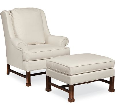 Jamison Chair and Ottoman (1010-02)