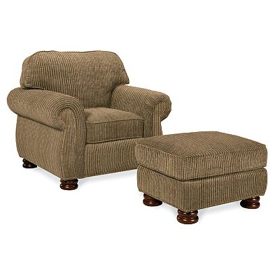 Benjamin Chair and Ottoman (4074-91)