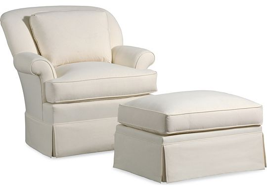 Stella Chair and Ottoman (1010-02)