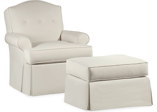 Molly Chair and Ottoman (1010-02)