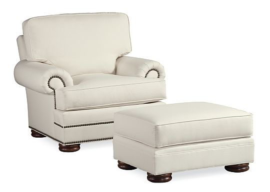 Ashby Chair and Ottoman (1010-02)