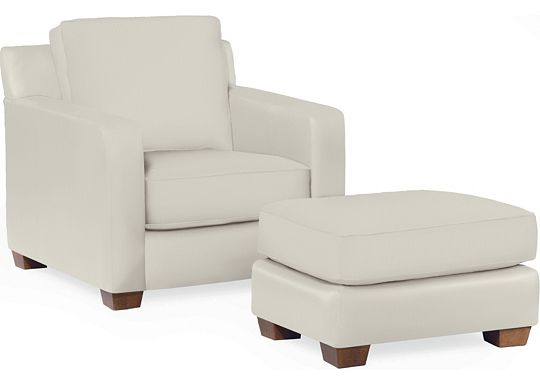 Metro Chair and Ottoman (1313-02)
