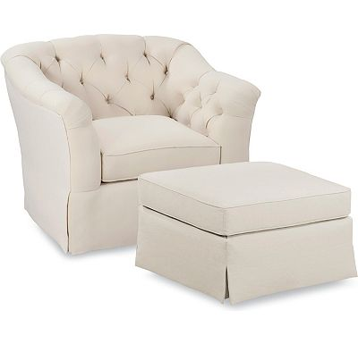 Rendezvous Chair and Ottoman (1313-02)
