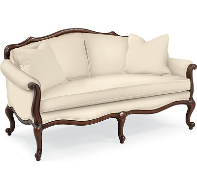 Devereux Settee with Double Welt Trim (1313-02)