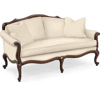 Devereux Settee with Nailhead Trim (1313-02)