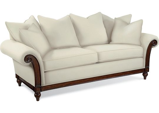 Calgary Sofa with Scatterback Pillows (1313-02)