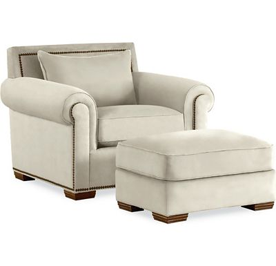 Fremonth Chair and Ottoman (1313-02)
