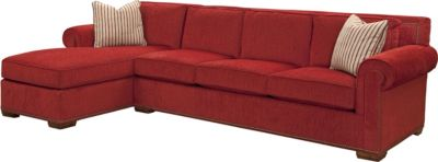 Fremont Sectional  sc 1 st  Thomasville Furniture : red chaise sofa - Sectionals, Sofas & Couches
