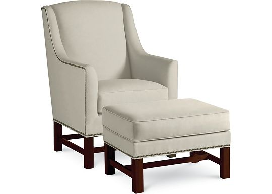 Griffin Chair and Ottoman (1313-02)