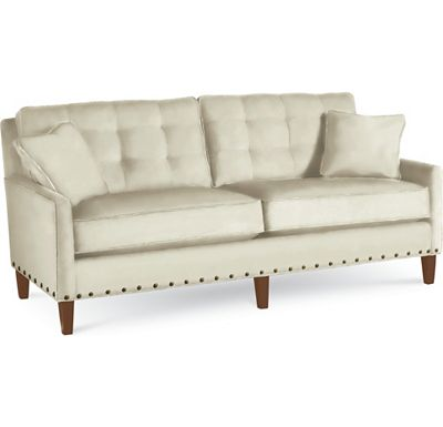 Highlife Biscuit Back Sofa with Nails (1313-02)
