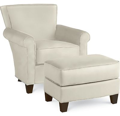 Sable Chair and Ottoman (1313-02)