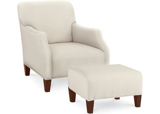 Logan Chair and Ottoman (1313-02)
